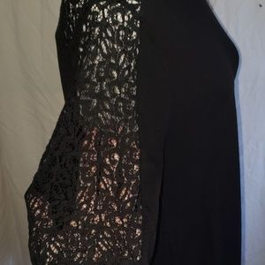 Old Navy Tops - Old Navy Black Lace Tunic Top